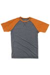 Boxercraft Orange and Granite Double Play Tee