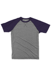 Boxercraft Purple and Granite Double Play Tee