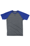 Boxercraft Royal and Granite Double Play Tee