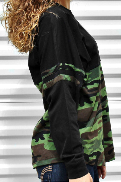 Boxercraft Women's Camo Pom Pom Pullover #T14BCAMO *Personalize It! (PLEASE ALLOW 3-5 BUSINESS DAYS. EXPEDITED SHIPPING N/A) - Wholesale Accessory Market