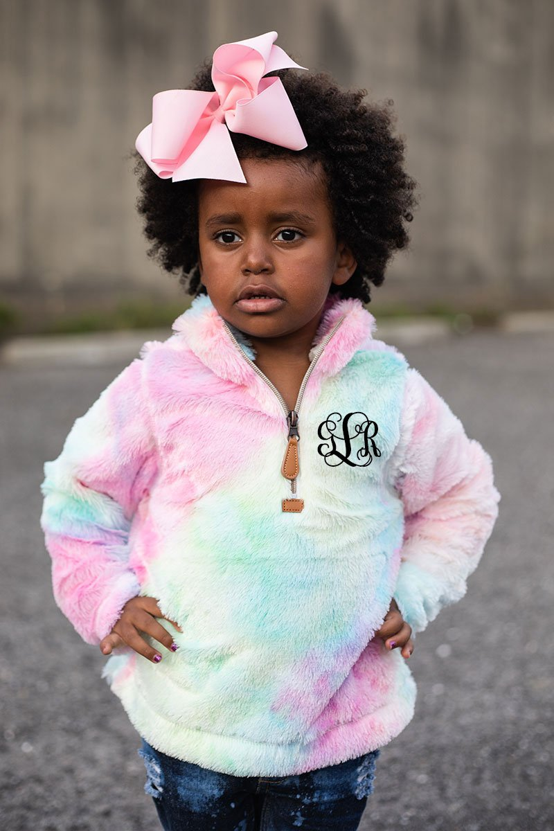 PRE-ORDER* Kid's Pink Tie Dye Cuddle Fleece **EXPECTED SHIP DATE 8/30**