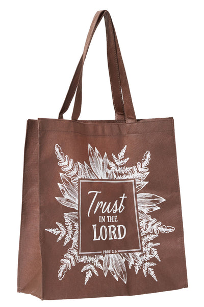 Proverbs 3:5 'Trust In The Lord' Tote Bag