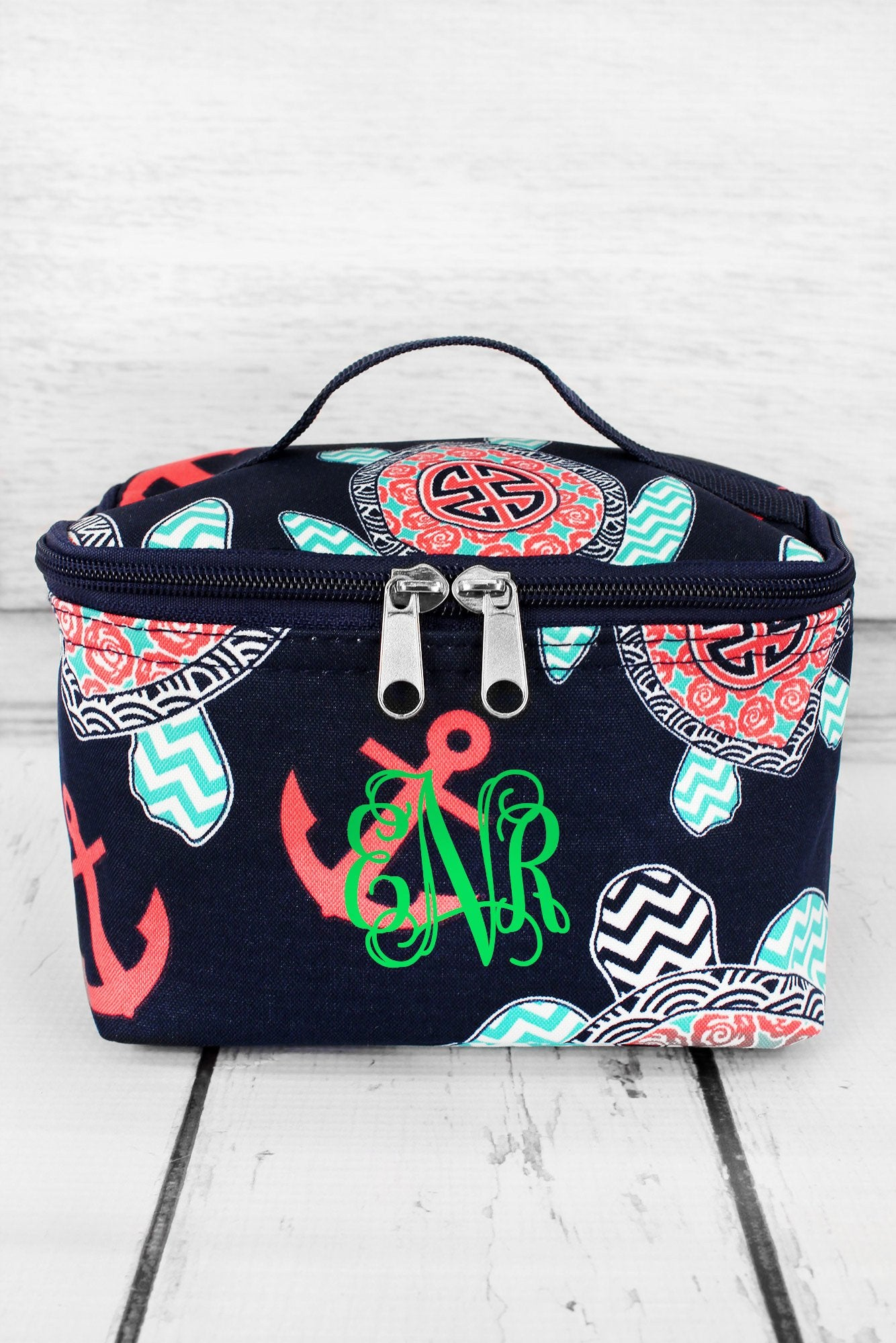 NGIL Preppy Under the Sea Cosmetic Case