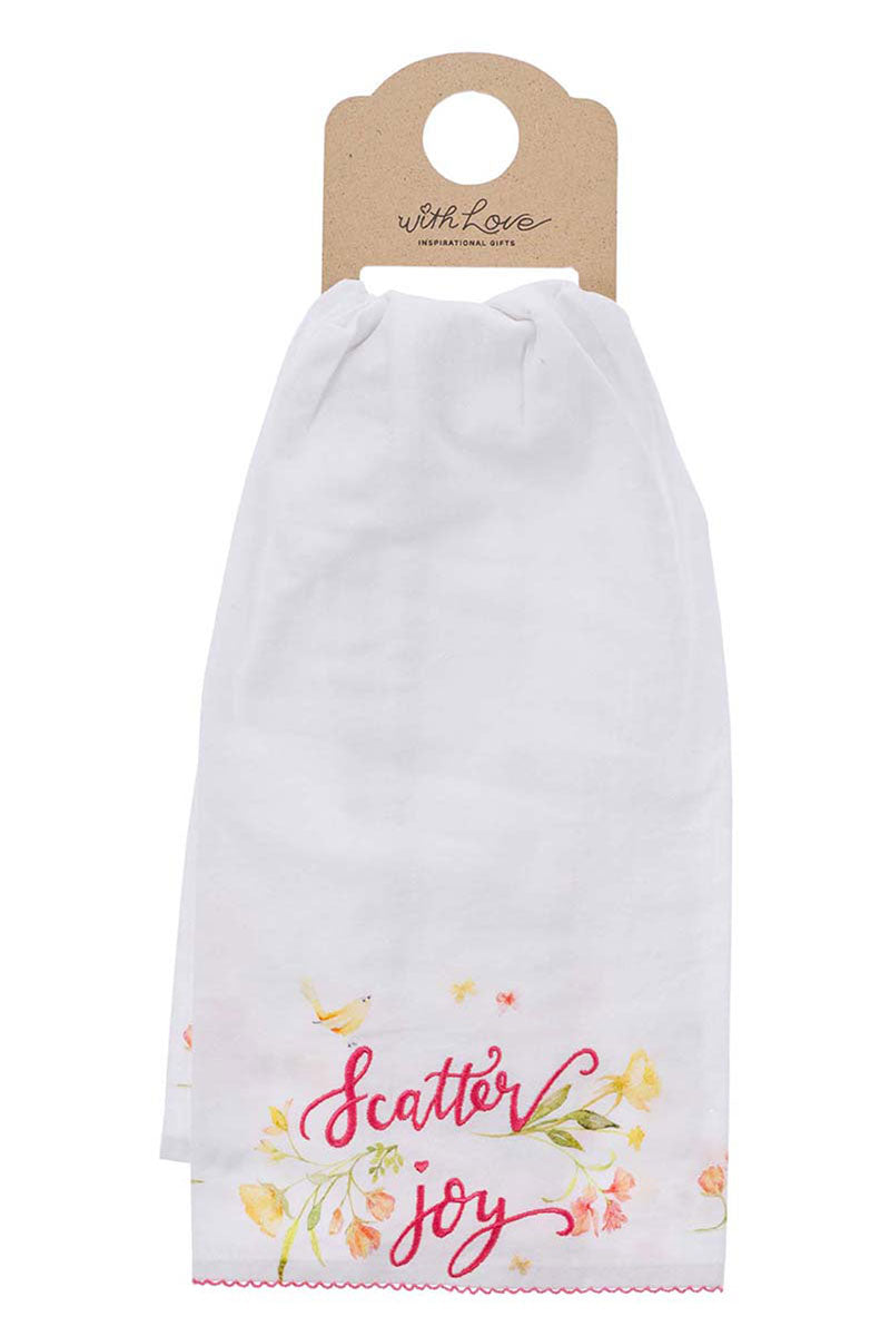 Scatter Joy Tea Towel