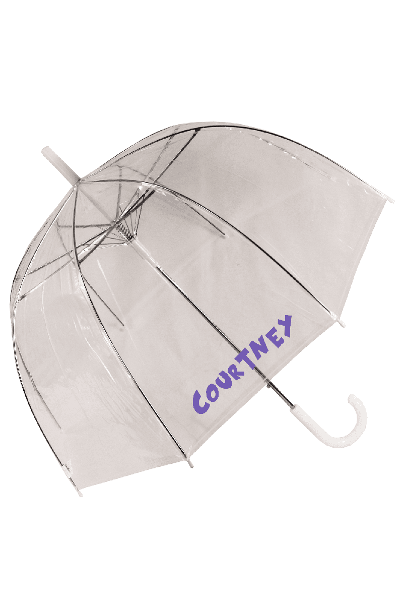 "Clear Dome Umbrella 46"" #W3465-CL"