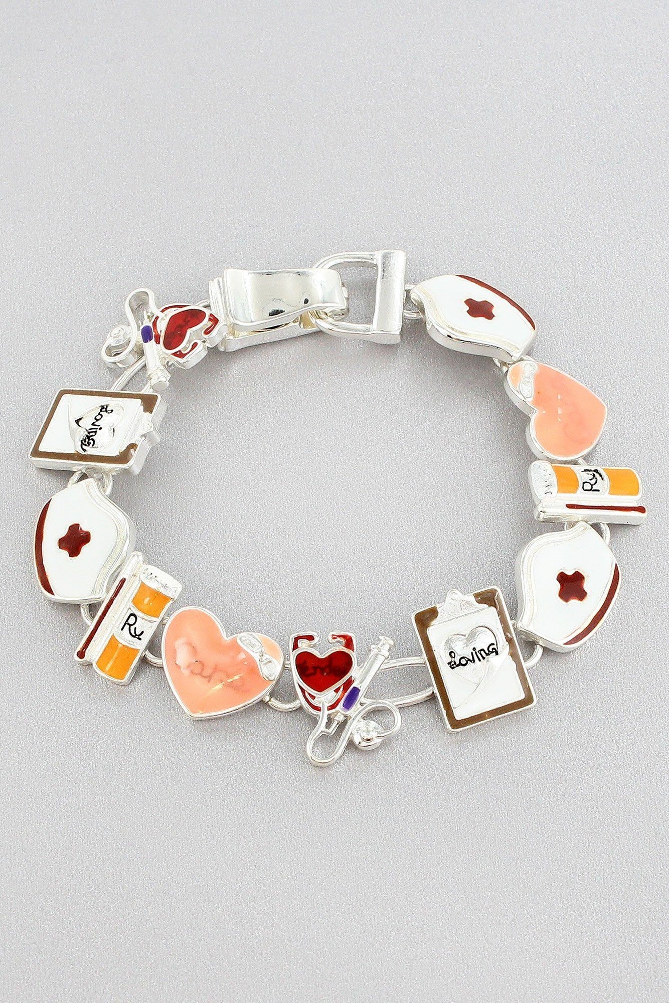 Nurse Themed Magnetic Bracelet