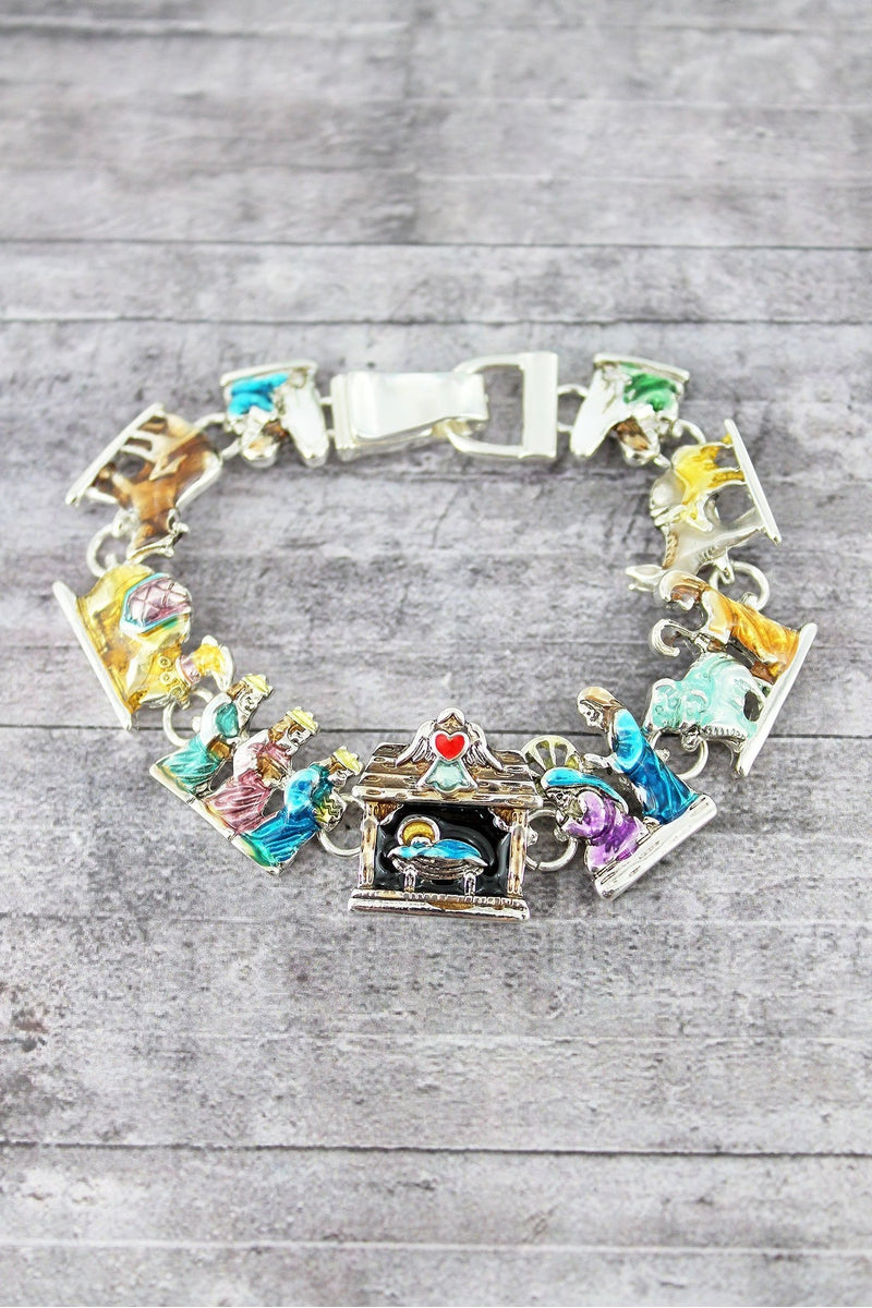 Nativity Magnetic Bracelet