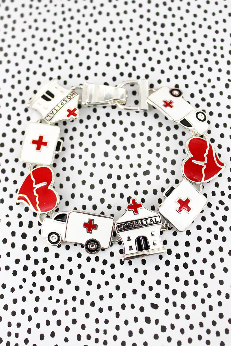 Colorful Hospital Magnetic Bracelet