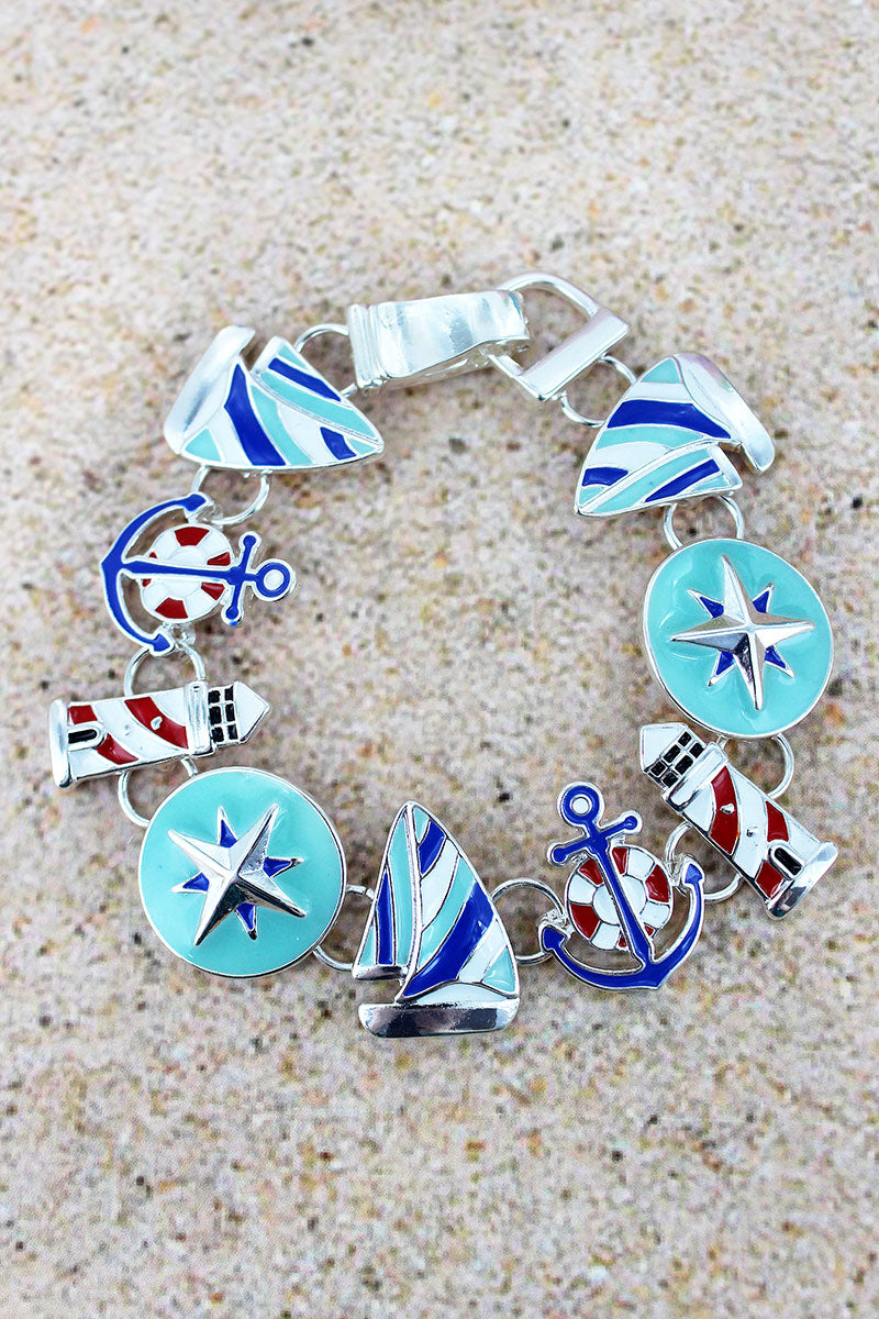 Nautical Magnetic Bracelet