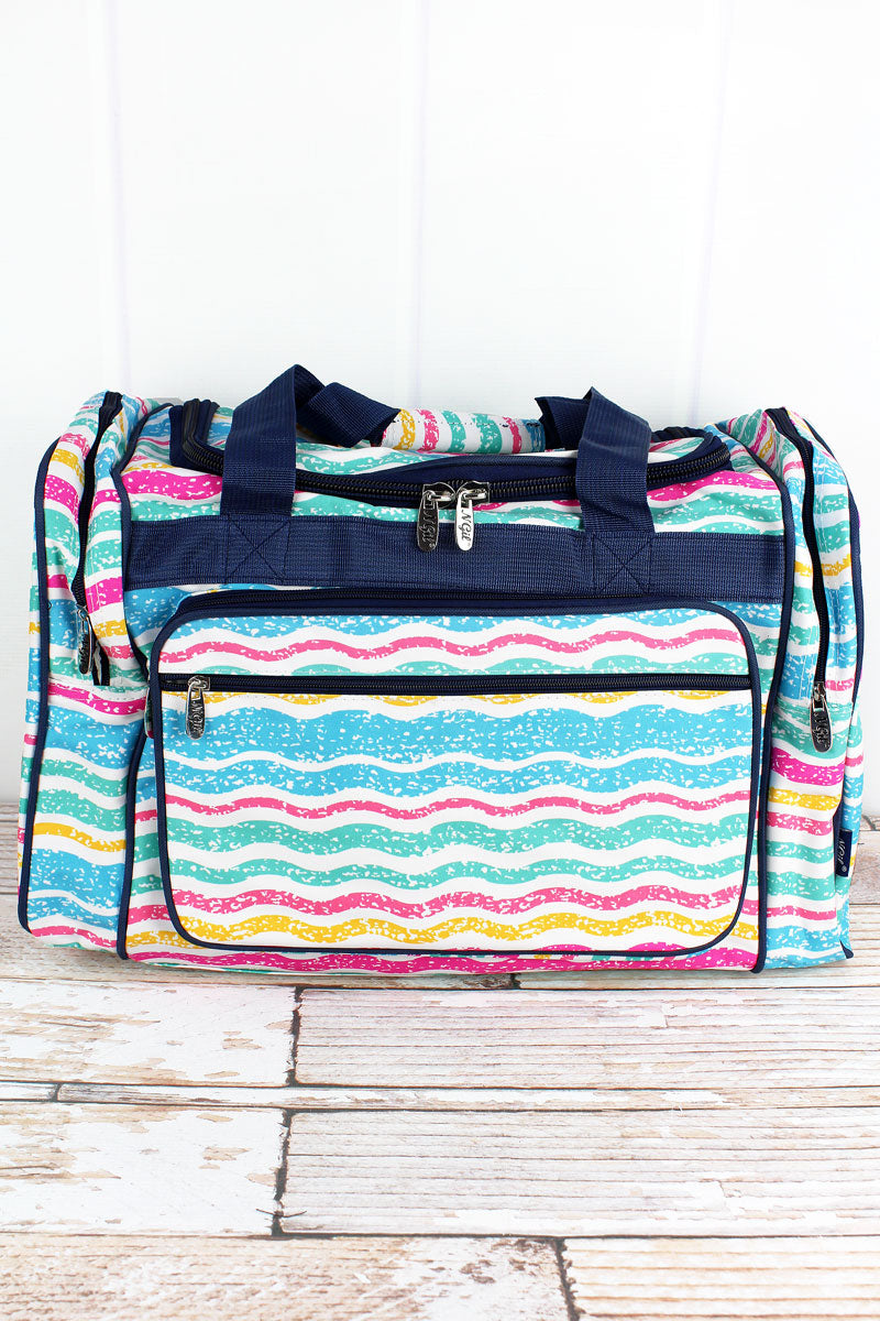 NGIL Fruit Stripes Duffle Bag 20""