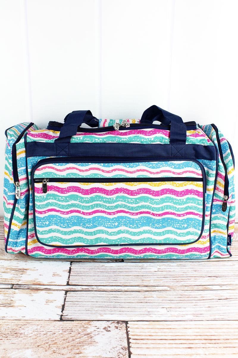 NGIL Fruit Stripes Duffle Bag 23""