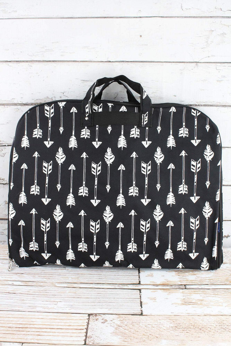 NGIL Straight & Arrow Black Garment Bag