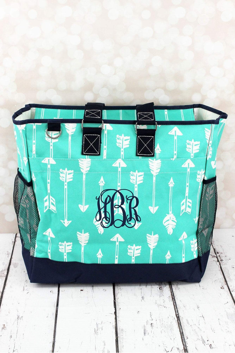 Straight & Arrow Mint Everyday Organizer Tote