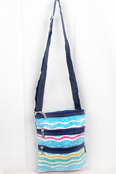 NGIL Fruit Stripes Crossbody Bag