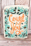 James 1:2 'Count It All Joy' Bible Cover