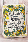 Proverbs 16:24 'Kind Words' Bible Cover
