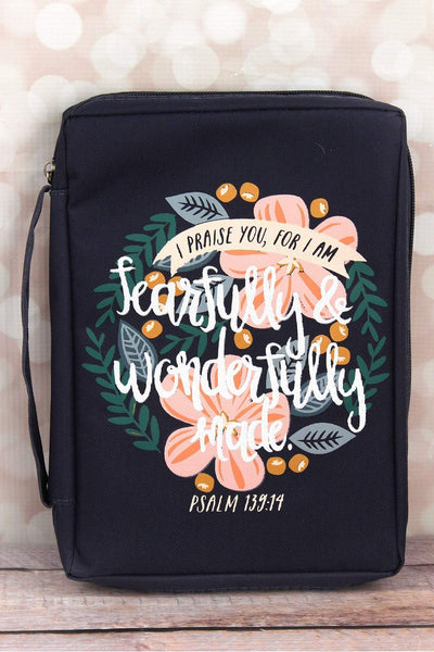 Psalm 139:14 'Fearfully & Wonderfully Made' Bible Cover