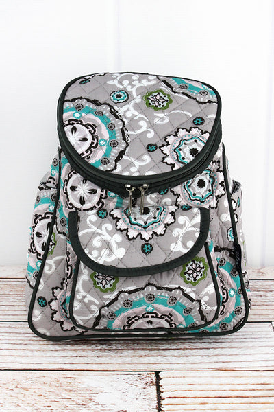 NGIL Garden View Quilted Petite Backpack