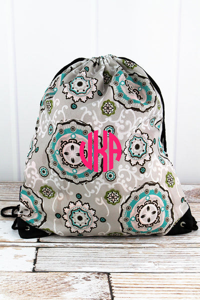 NGIL Garden View Drawstring Backpack
