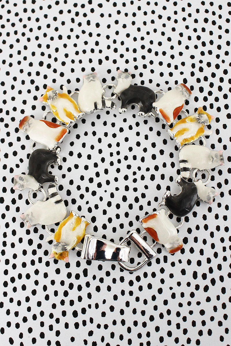Cat Magnetic Bracelet