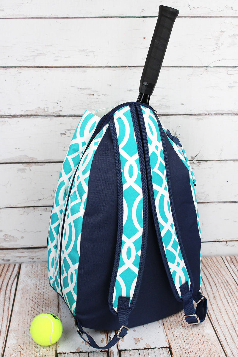 SALE! NGIL Aqua Trellis Tennis Backpack