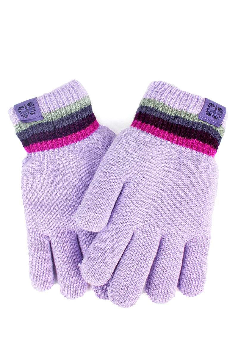 Kid's Lavender Play All Day Gloves