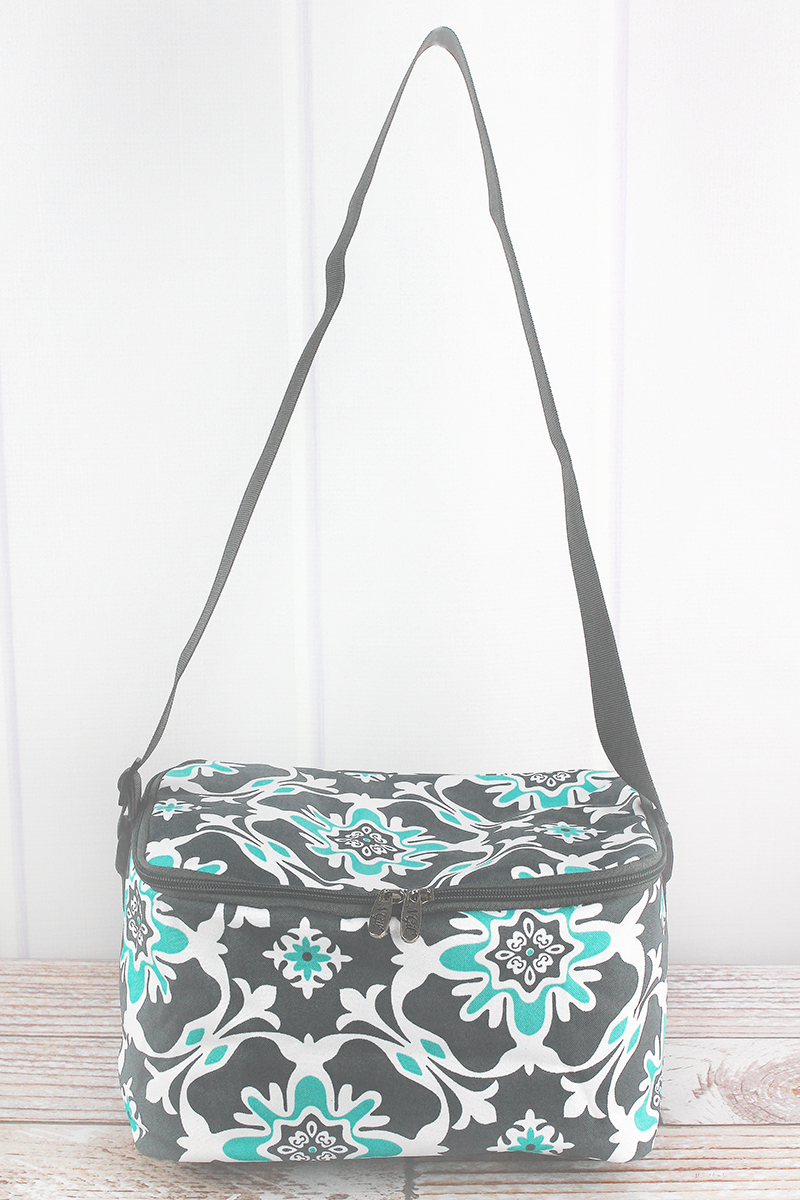 Serene Garden Insulated Shoulder Lunch Bag