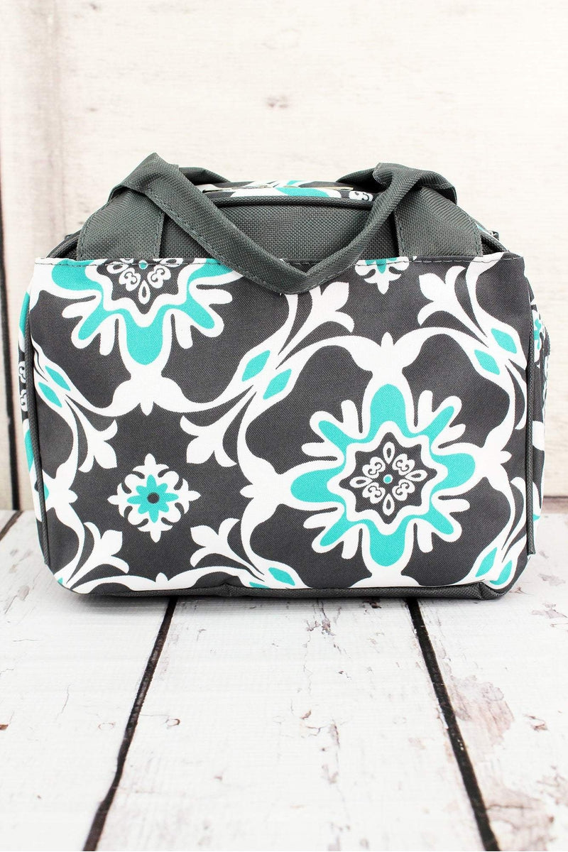 NGIL Serene Garden Insulated Bowler Style Lunch Bag
