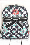 NGIL Serene Garden Quilted Backpack
