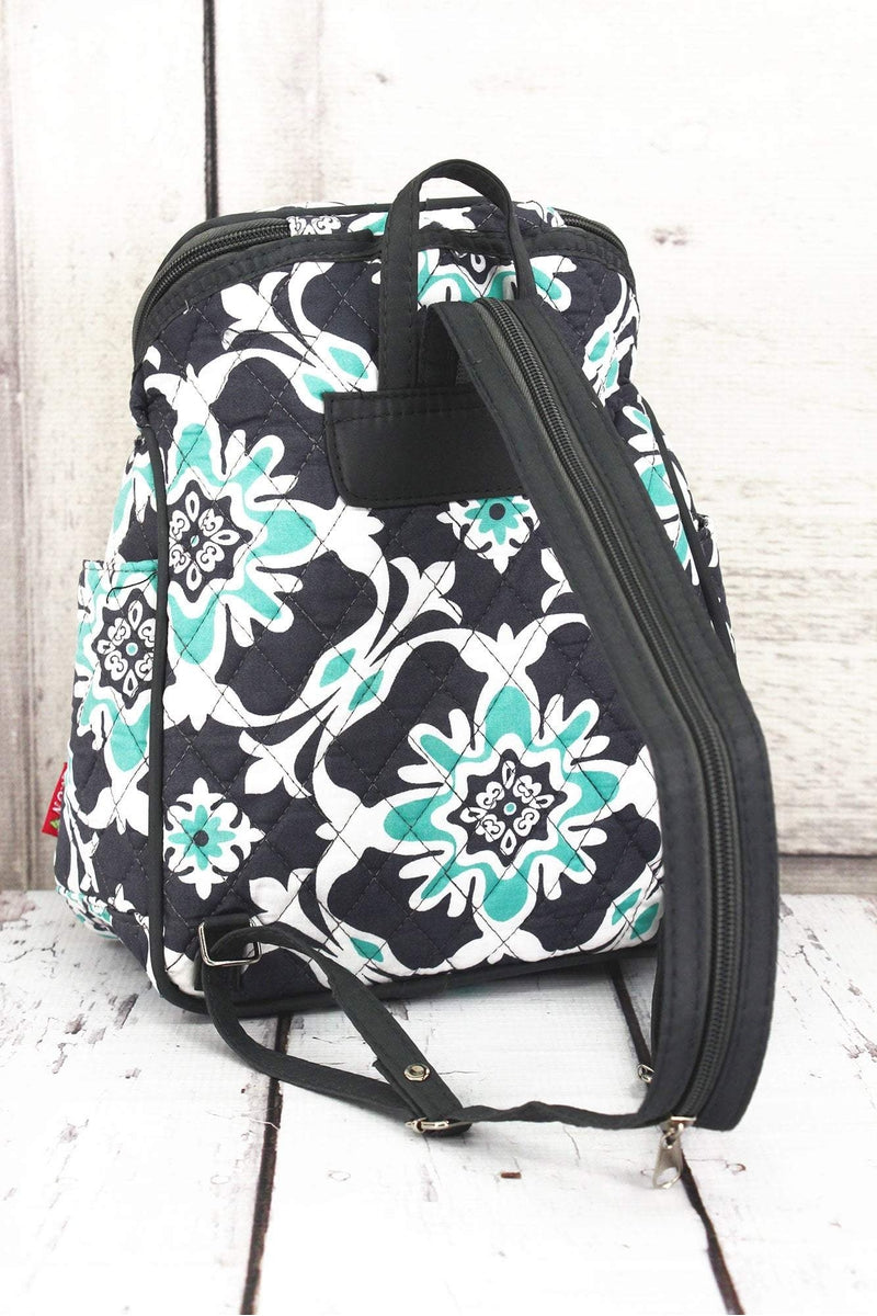 NGIL Serene Garden Quilted Petite Backpack