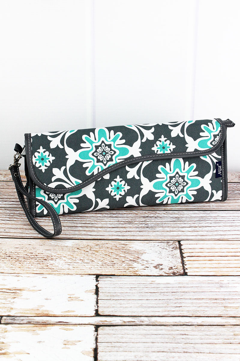 NGIL Serene Garden Insulated Flat Iron Case