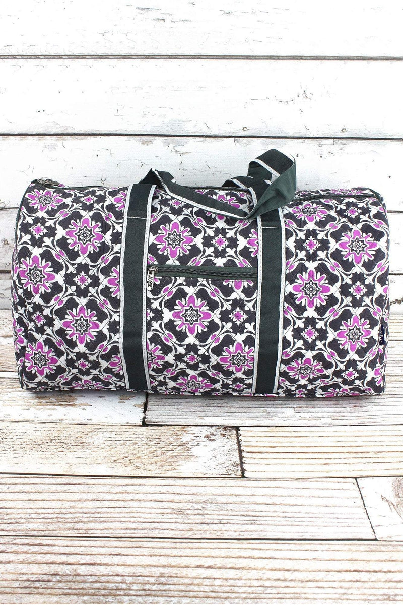 NGIL Serenity Garden Quilted Duffle Bag 21""