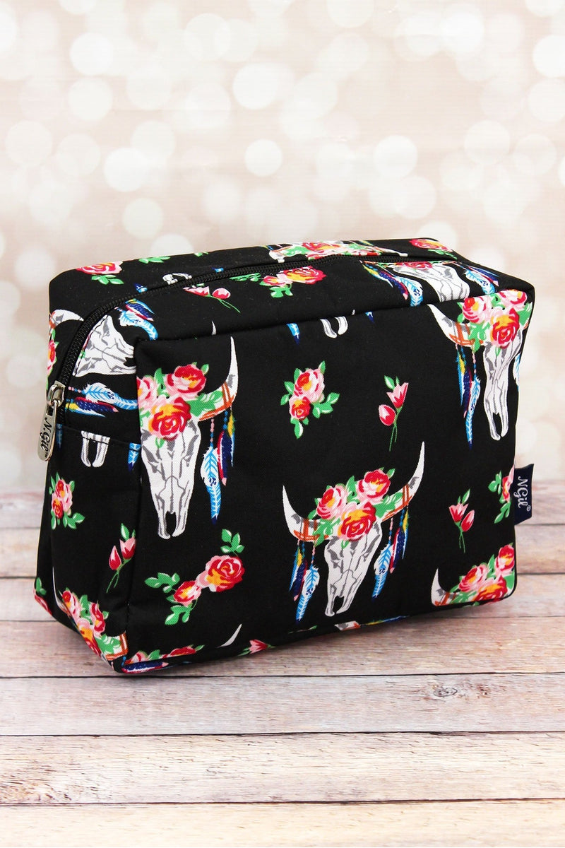 NGIL Free Spirit Steer Cosmetic Case