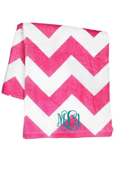 Chevron Towel #C3060 *Personalize It (PLEASE ALLOW 3-5 BUSINESS DAYS. EXPEDITED SHIPPING N/A) - Wholesale Accessory Market