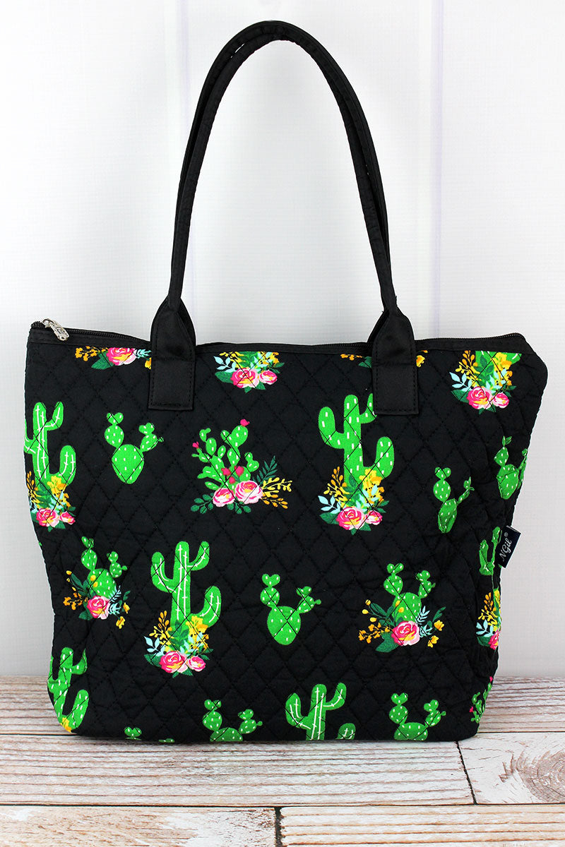 NGIL Cactus Garden Quilted Shoulder Bag
