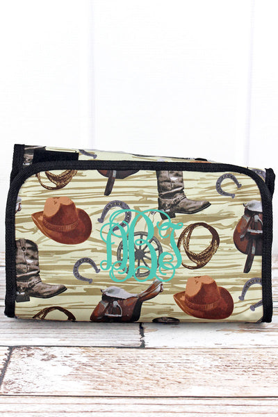 NGIL Wild Wild West Roll Up Cosmetic Bag
