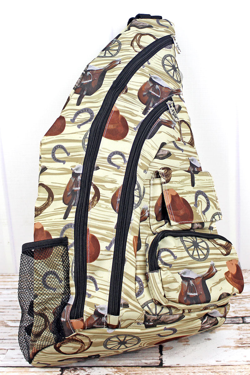 NGIL Wild Wild West Sling Backpack