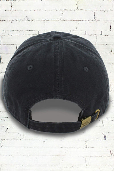 Graphite Comfort Colors Dyed Canvas Baseball Cap