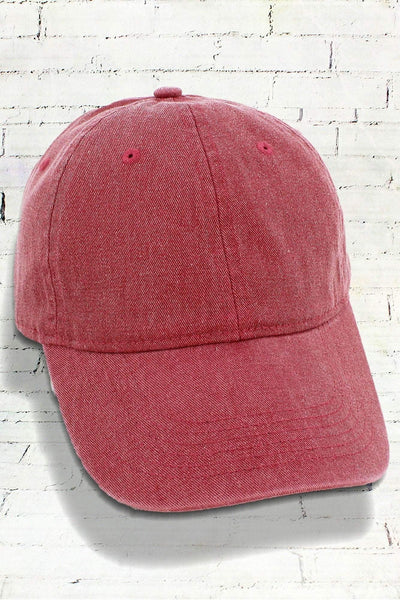 Brick Comfort Colors Pigment Dyed Canvas Baseball Cap