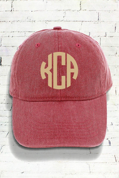Brick Comfort Colors Pigment Dyed Canvas Baseball Cap #CC0104 (PLEASE ALLOW 3-5 BUSINESS DAYS. EXPEDITED SHIPPING N/A)