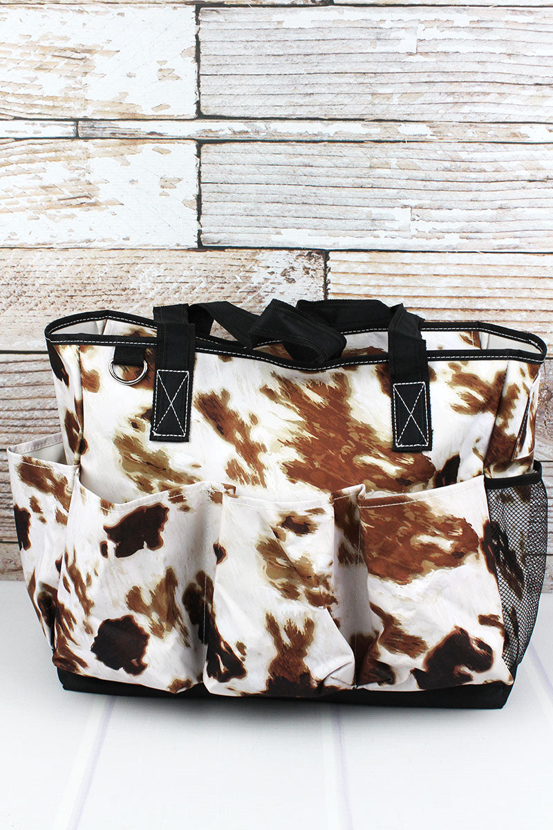 NGIL Till The Cows Come Home Large Organizer Tote