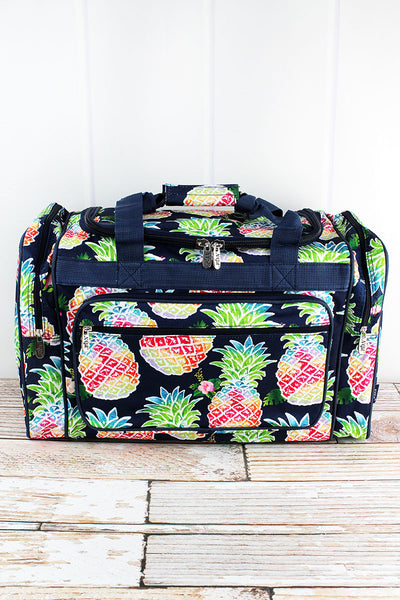 NGIL Rainbow Pineapple Duffle Bag 20""