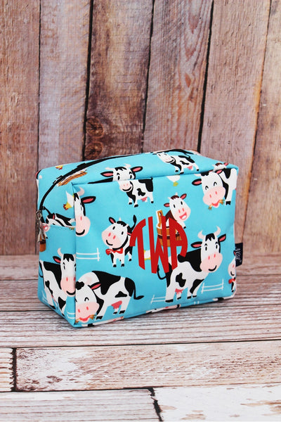 NGIL Udderly Cute Cows Cosmetic Case