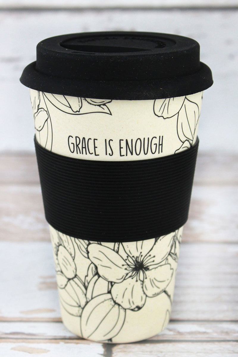 Grace Is Enough Bamboo Travel Cup