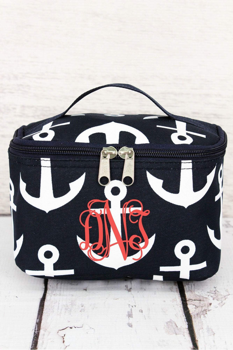 Navy with White Anchors Case #DDT277-NAVY