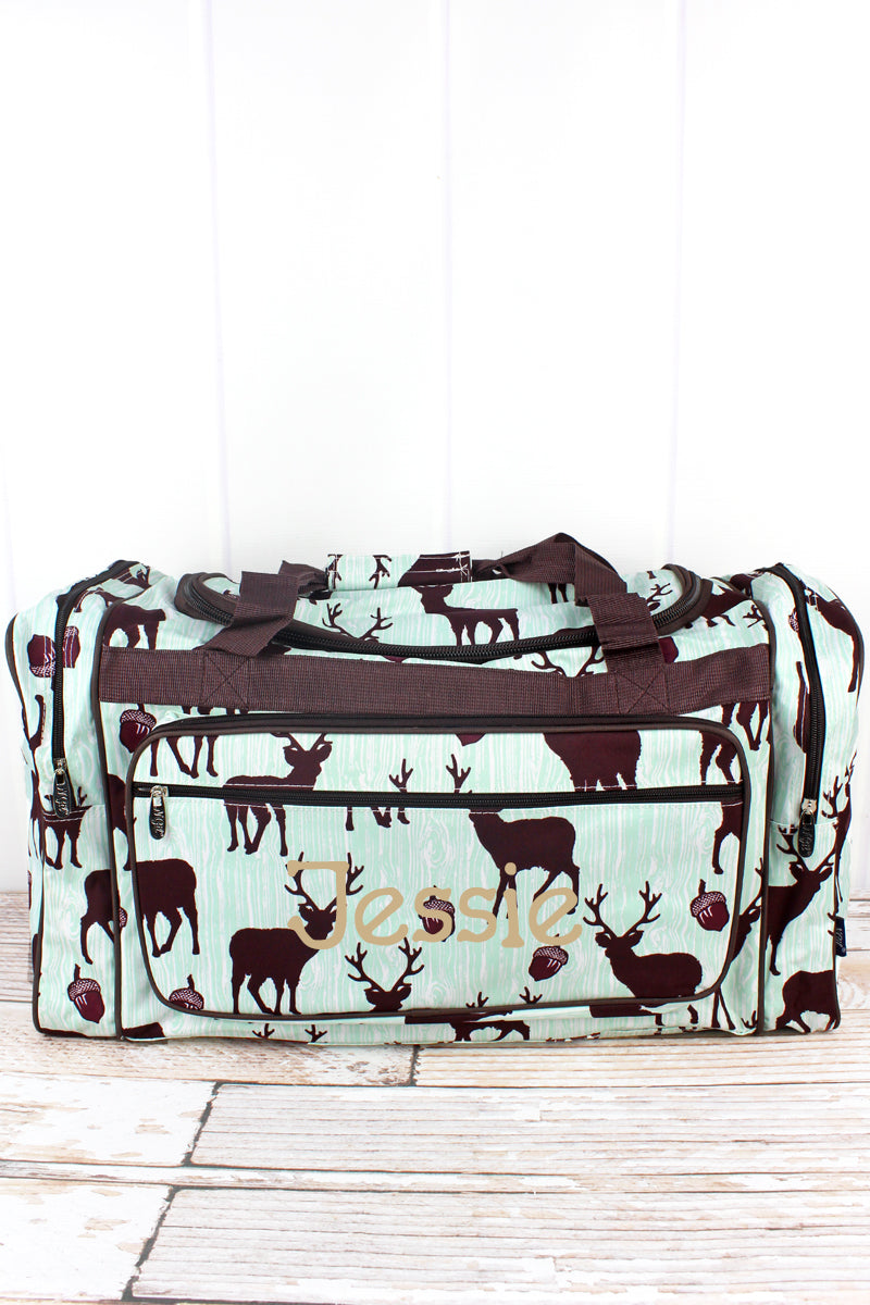 NGIL The Buck Stops Here Duffle Bag 23""