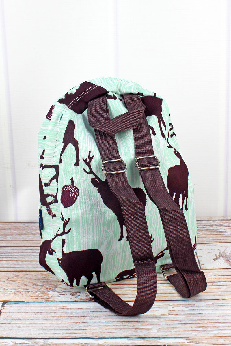 NGIL The Buck Stops Here Small Backpack