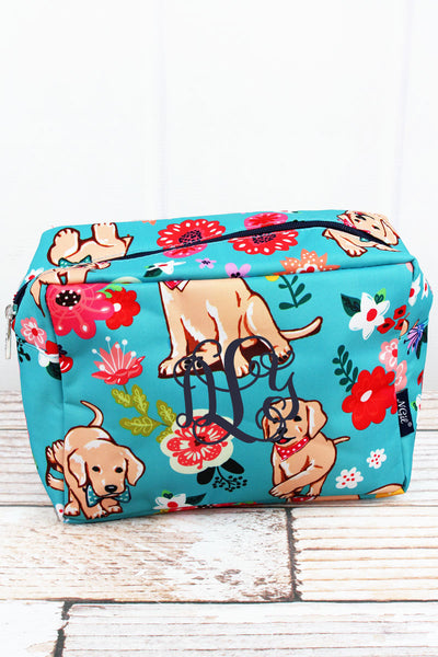 NGIL Dapper Dogs Cosmetic Case
