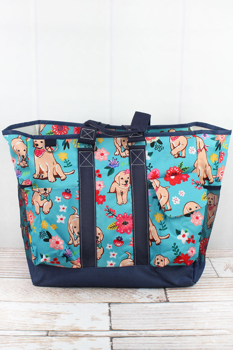 NGIL Dapper Dogs Everyday Organizer Tote