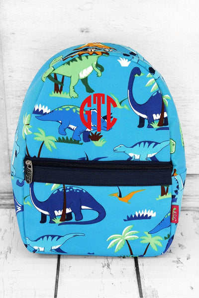 Dinosaur World Small Backpack #DIN825-NAVY - Wholesale Accessory Market